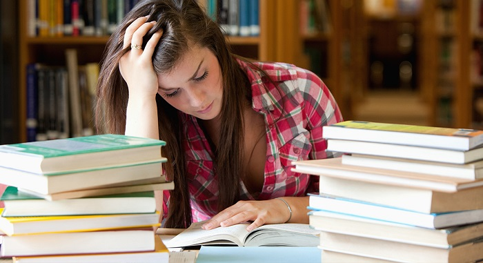 Image Represnting The Concept Of Stress While Preparing Competitive Exams